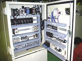 温調式耐久試験機制御盤